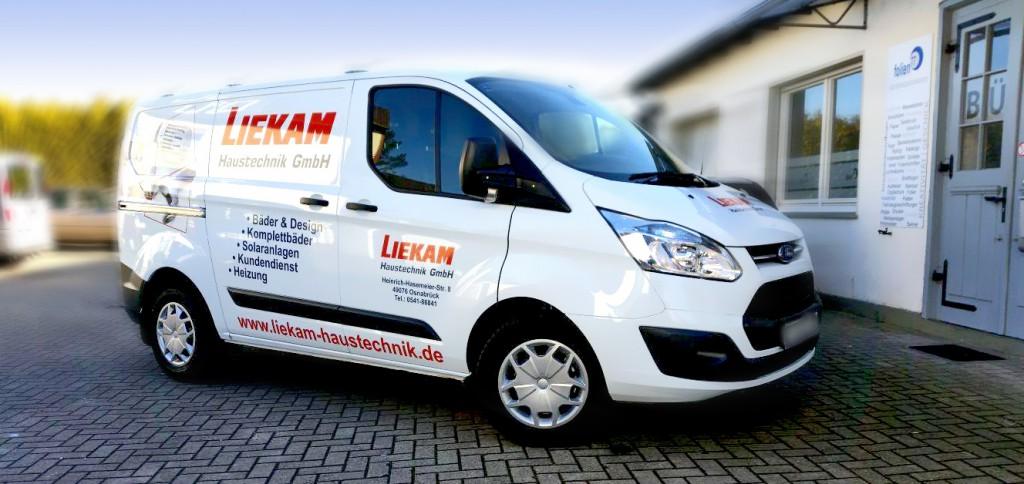 Bild der Fahrzeugbeschriftung für Liekam Haustechnik